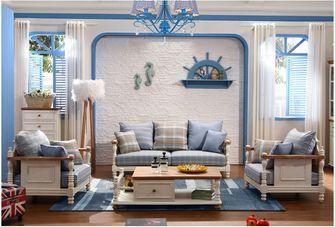 经济型70平米地中海风格客厅图片大全