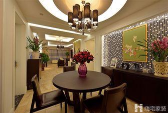 80平米现代简约风格餐厅家具图片大全