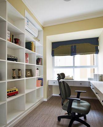 90平米混搭风格书房设计图