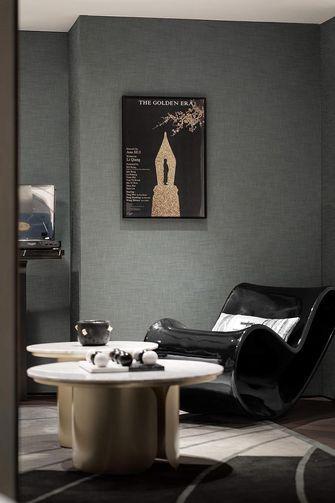 140平米复式英伦风格影音室图