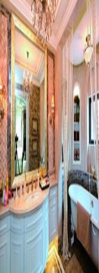 15-20万140平米别墅法式风格卫生间图片