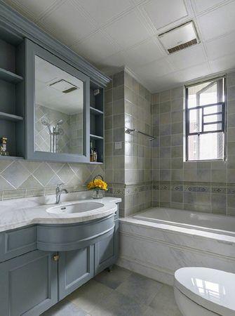 100平米三室两厅混搭风格卫生间装修图片大全