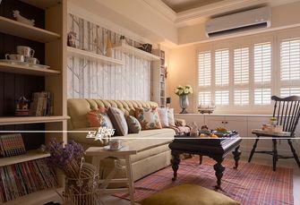 60平米三室一厅田园风格客厅设计图