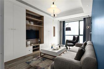 100平米三室一厅英伦风格客厅图片大全