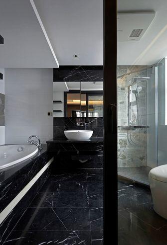 140平米三室三厅现代简约风格卫生间装修案例