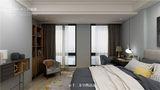 130平米四室两厅混搭风格卧室设计图