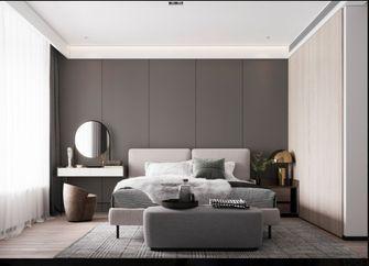 110平米三室三厅现代简约风格卧室装修案例
