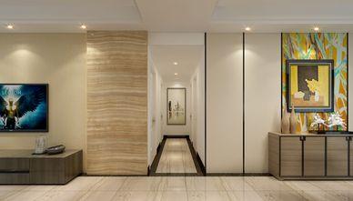 130平米三室两厅英伦风格玄关图