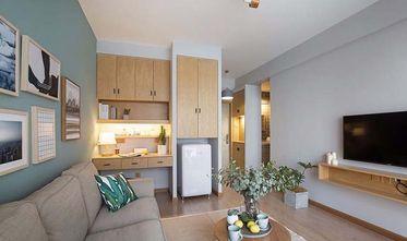 80平米一居室欧式风格客厅图