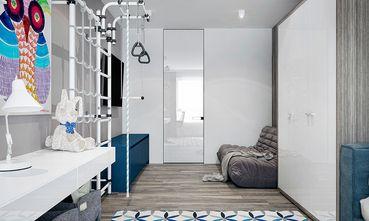 90平米三室一厅现代简约风格书房效果图
