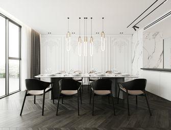 140平米三室一厅现代简约风格餐厅图片大全