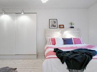 经济型70平米一室一厅田园风格卧室装修案例