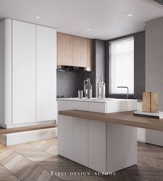 80平米一居室现代简约风格厨房欣赏图