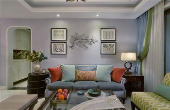 120平米三室三厅美式风格客厅设计图