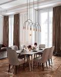 120平米四新古典风格餐厅图