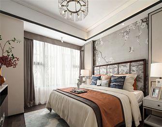 140平米四室两厅中式风格卧室图