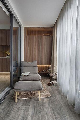 110平米三室两厅混搭风格阳台欣赏图