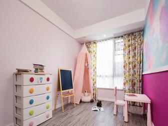 120平米三日式风格儿童房装修效果图