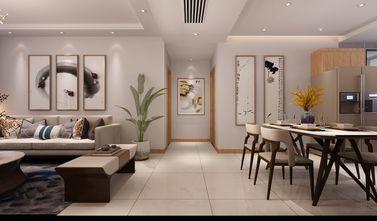 130平米三室两厅现代简约风格走廊设计图