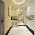 140平米三室两厅地中海风格玄关设计图