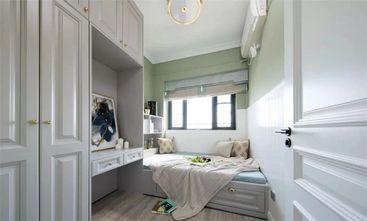 80平米三室一厅美式风格卧室装修图片大全