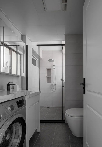 60平米欧式风格卫生间欣赏图