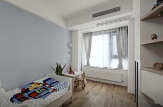 经济型100平米三室一厅日式风格儿童房设计图