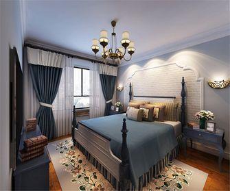 经济型80平米田园风格卧室图