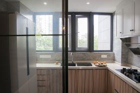 30平米以下超小戶型現代簡約風格廚房圖