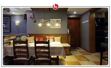 富裕型120平米三美式风格餐厅效果图