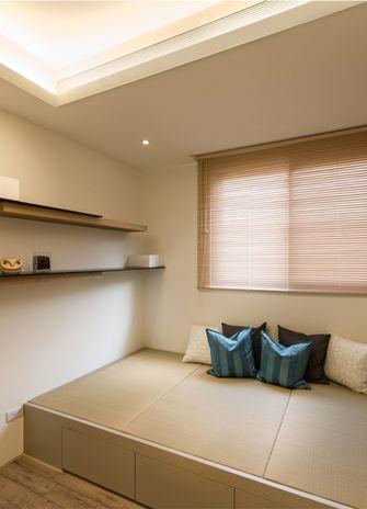 130平米三室两厅日式风格阳光房设计图