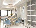 90平米别墅混搭风格餐厅欣赏图