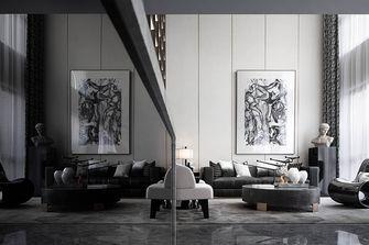140平米复式英伦风格客厅装修案例