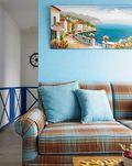 复式地中海风格效果图