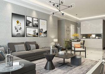 100平米三室一厅混搭风格客厅装修图片大全