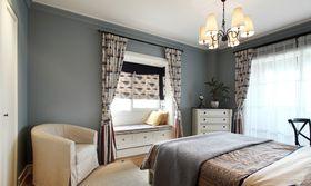 富裕型140平米三室兩廳美式風格臥室裝修效果圖
