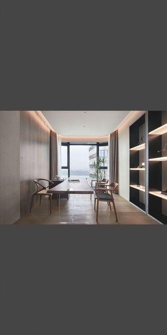 110平米三室一厅欧式风格书房效果图