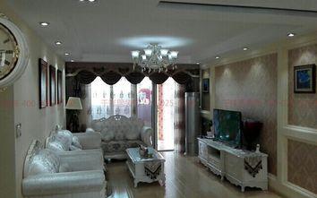 100平米三室两厅欧式风格客厅设计图