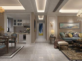 140平米三室一厅新古典风格走廊欣赏图