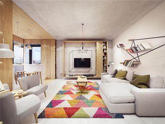 90平米三室三厅宜家风格客厅图片大全