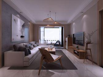 120平米四室两厅日式风格客厅设计图