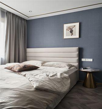140平米三田园风格卧室图片