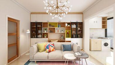 60平米公寓日式风格客厅欣赏图