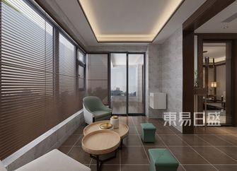 130平米四室两厅中式风格阳台欣赏图