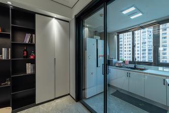 130平米三室两厅现代简约风格厨房装修图片大全
