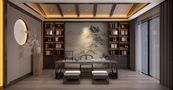 140平米别墅东南亚风格书房图片大全