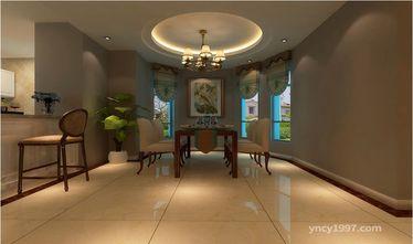 140平米四室两厅田园风格厨房装修案例