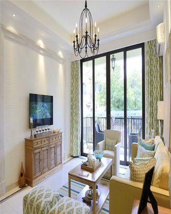 80平米田园风格客厅装修图片大全