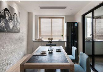 富裕型140平米三室三厅宜家风格餐厅图