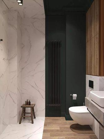 70平米公寓英伦风格卫生间欣赏图